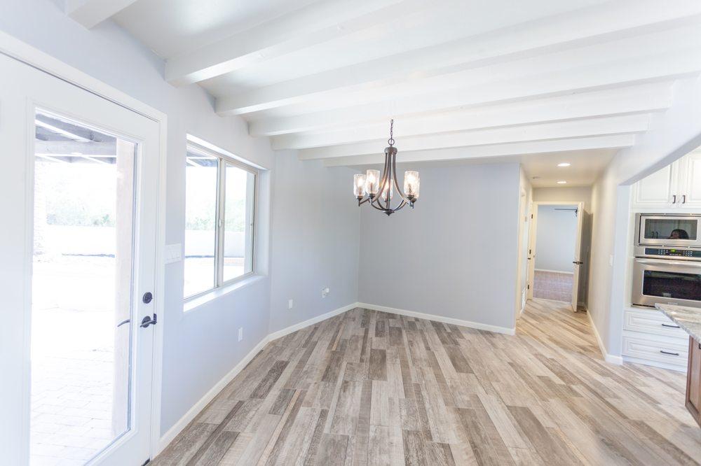 Wood Floor Porcelain Tile Scs Tile Yelp