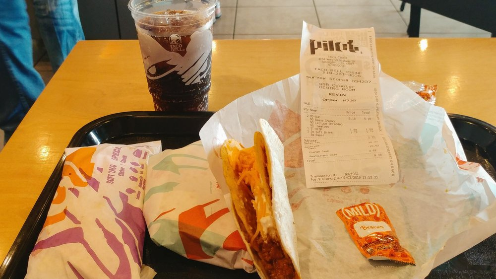 Taco Bell: 4154 US-24, Remington, IN