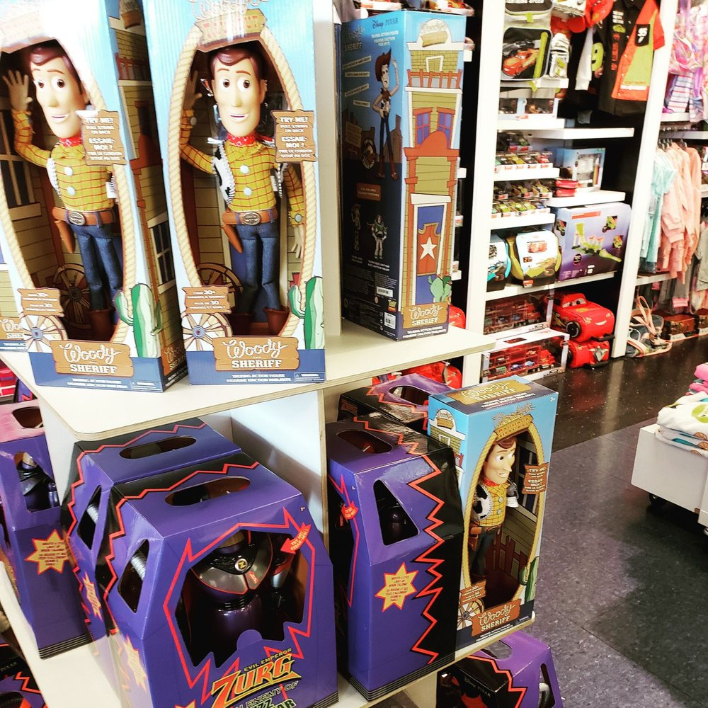 Disney Store: 7628 West Reno Ave, Oklahoma City, OK