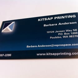 Kitsap printing printing services 1450 nw finn hill rd poulsbo photo of kitsap printing poulsbo wa united states we make business cards reheart Gallery