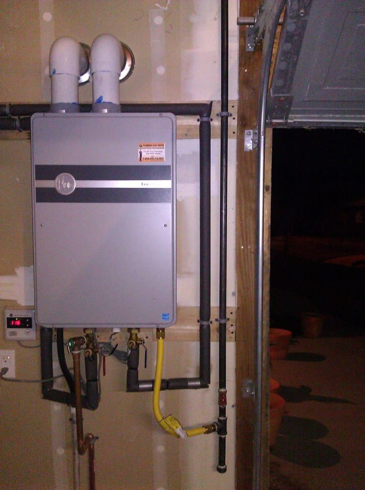 Rheem Tankless Water Heater Repair And Installation In