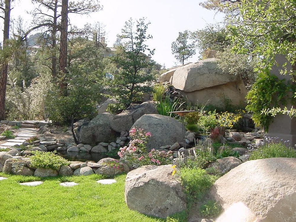 Nature west inc get quote landscaping 560 e z st for Design of oxidation pond numerical