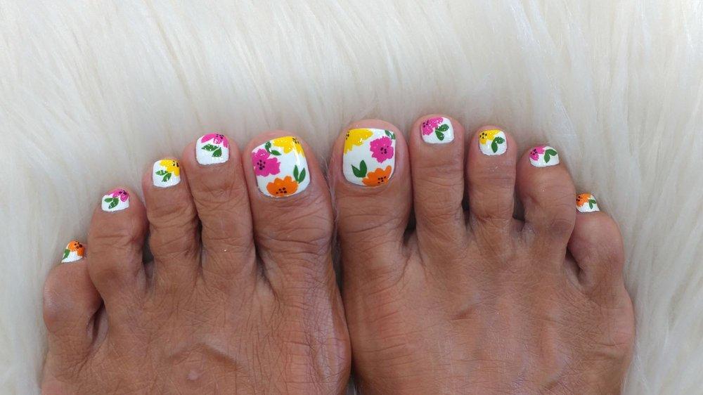 Nail design pedicure - Yelp