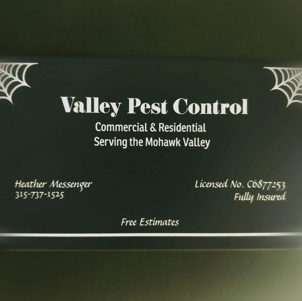 Valley Pest Control: 2864 Oneida St, Sauquoit, NY
