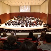 Stage Decorations Photo Of Atlanta Symphony Orchestra Ga United States The View From
