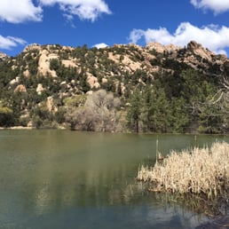 Granite Basin Lake Az.Granite Basin Recreation Area Hiking 3501 3633 North Granite