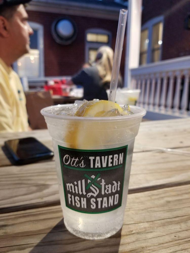 Otts Tavern & Millstadt Fish Stand: 20 E Washington St, Millstadt, IL