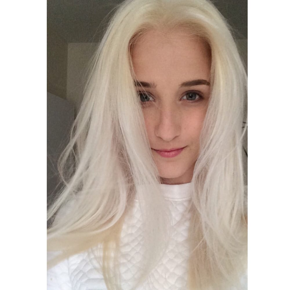 Dirty blonde to platinum! The process was enjoyable and ...