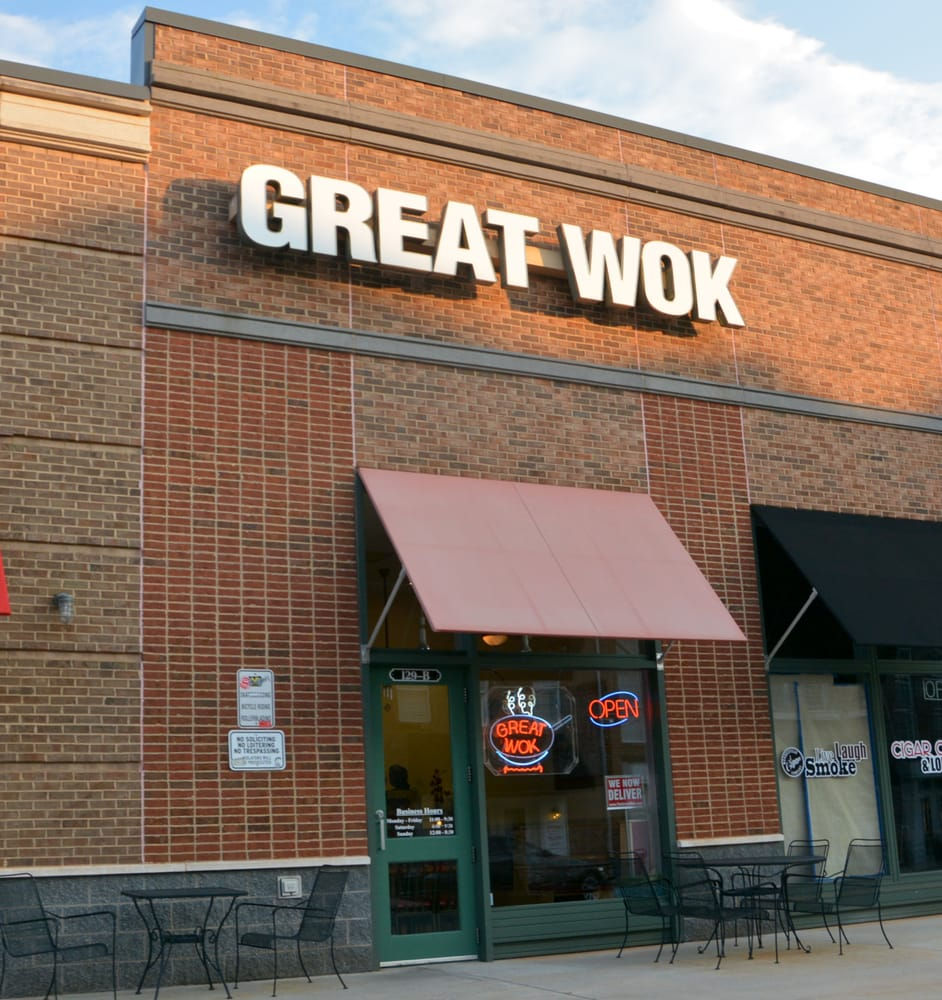 great wok 20 reviews chinese 129 market pl mooresville nc united states restaurant. Black Bedroom Furniture Sets. Home Design Ideas