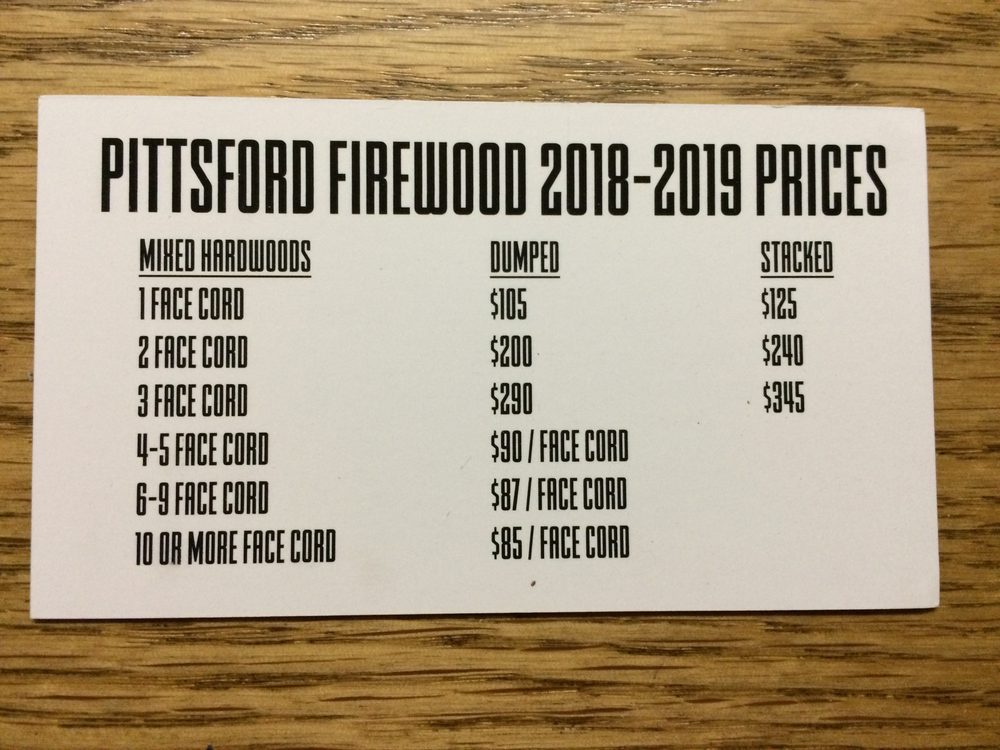 Pittsford Woods Firewood: Pittsford, NY