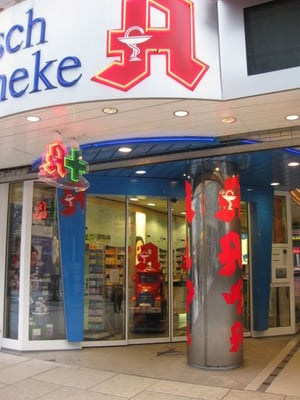 hirsch apotheke farmacia zeil 111 innenstadt fr ncfort del meno hessen alemania yelp. Black Bedroom Furniture Sets. Home Design Ideas