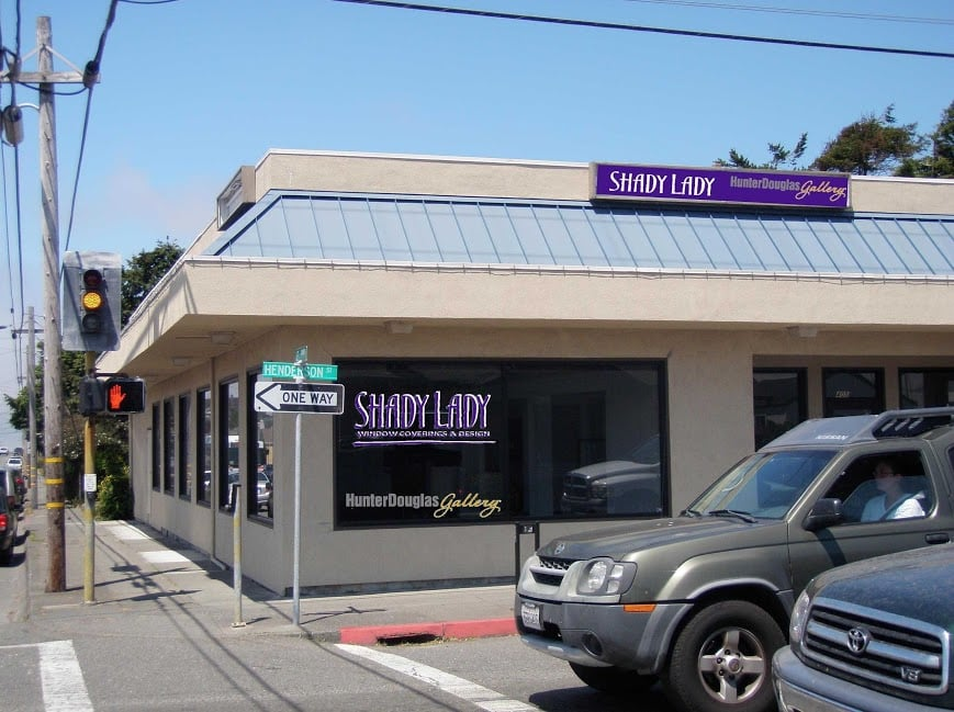 Shady Lady Window Coverings & Design: 405 Henderson St, Eureka, CA
