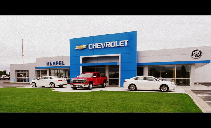 Harpel Chevrolet Buick: 2305 E 10th St, Glencoe, MN