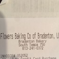 Photo of Nature's Own Bakery Outlet - Tampa, FL, United States. Flowers Baking