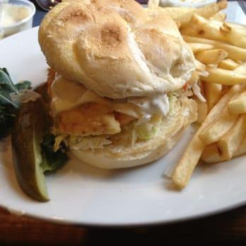 Photo Of Putnam S Waterview Restaurant Goffstown Nh United States Fried Haddock Sandwich