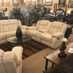 Photo Of American Furniture   Phoenix, AZ, United States. Leather Double  Reclining Sofa