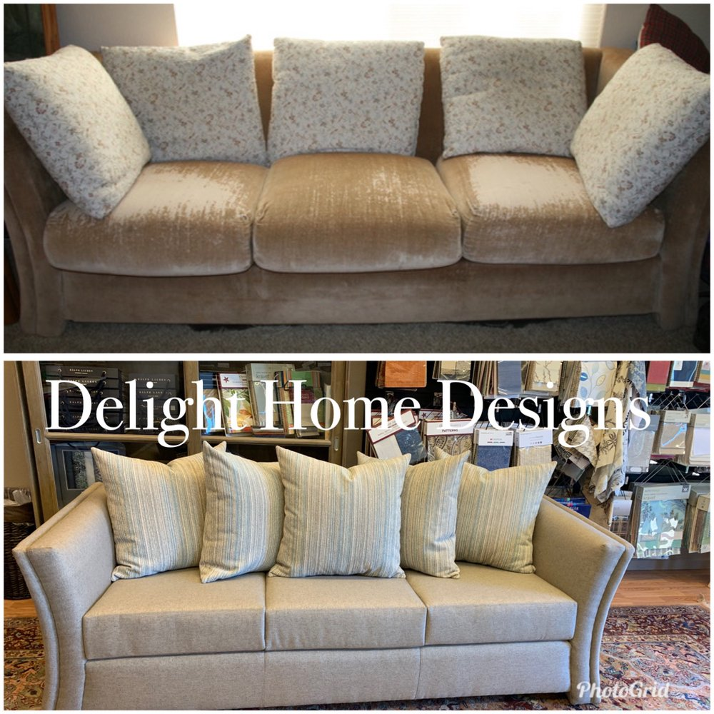 Delight Home Designs Upholstery & Interiors: 1511 Grass Valley Hwy, Auburn, CA