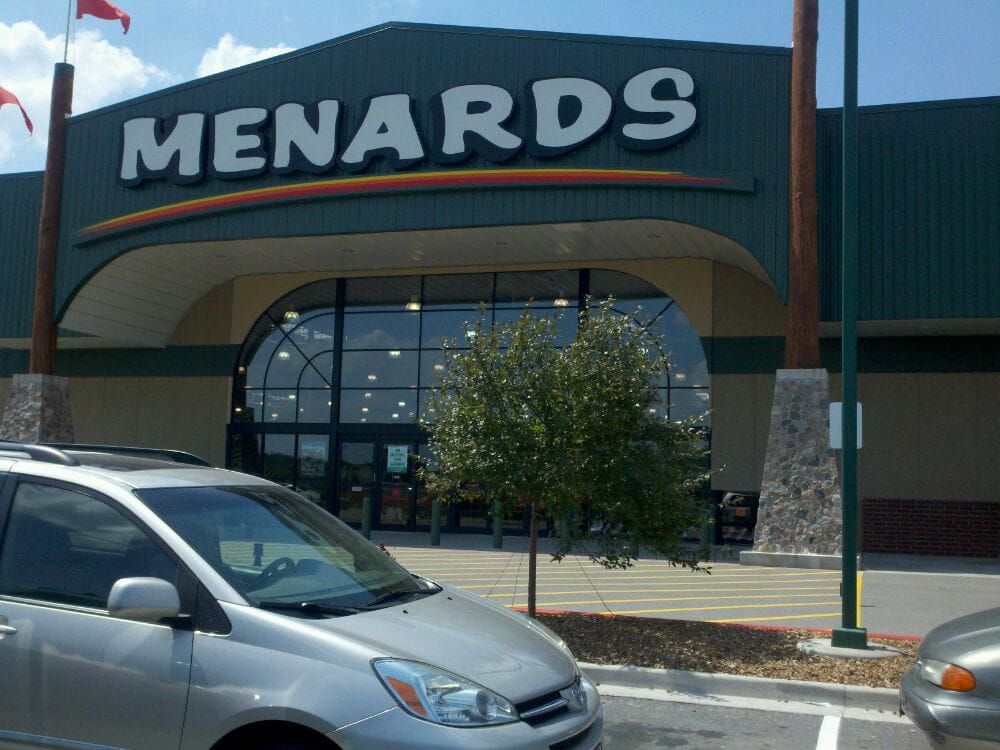 To view store specific pricing and availability please enter a zip and choose a store. No Stores Found. MO Get Directions > View Store Information > BELTON. E MARKEY PKWY. BELTON, MO Menards® Transportation. Menards® Self .