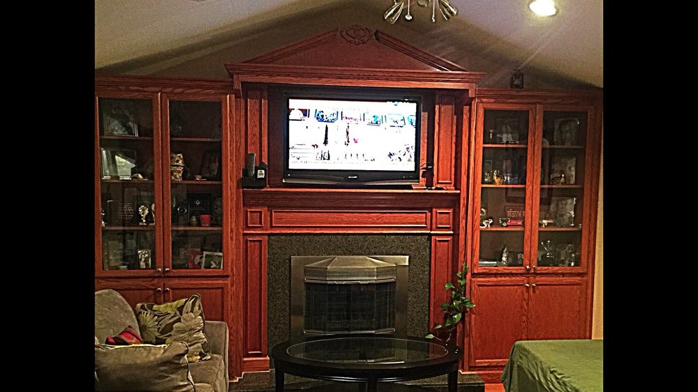 Photo Of G R Custom Cabinets   Rodeo, CA, United States. Custom TV Cabinet