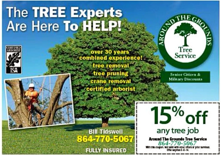Around the Grounds Tree Service: Belton, SC