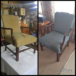 Photo Of River City Upholstery   Richmond, VA, United States. Before We  Reupholstering