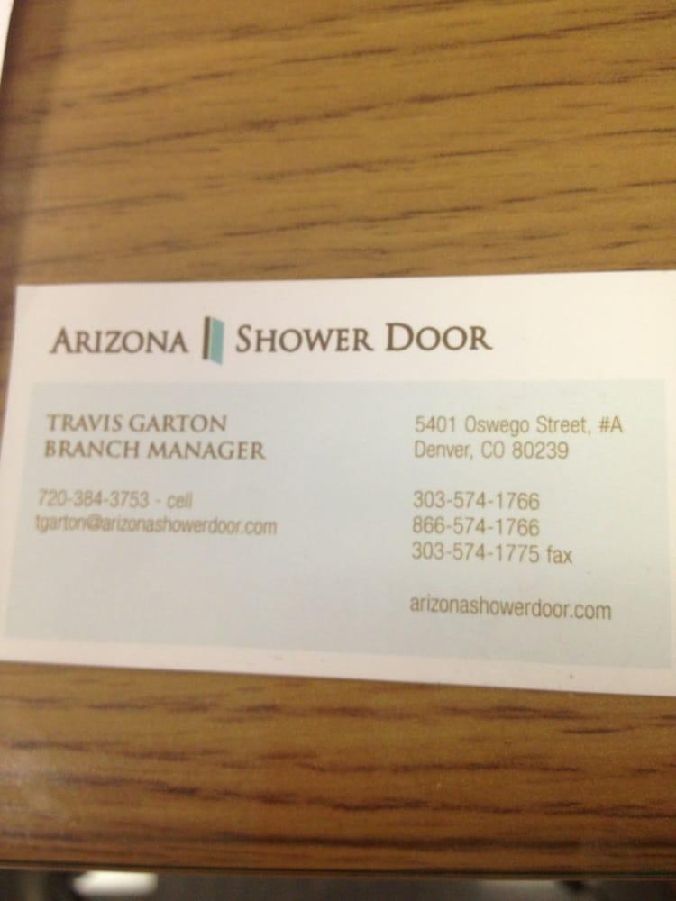 Arizona Shower Door Plumbing 5401 Oswego St Northeast Denver Co Phone Number Yelp