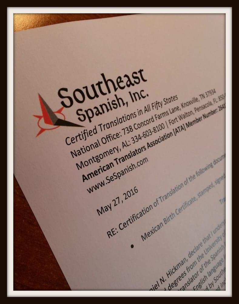 Southeast Spanish Translators Get Quote Translation Services