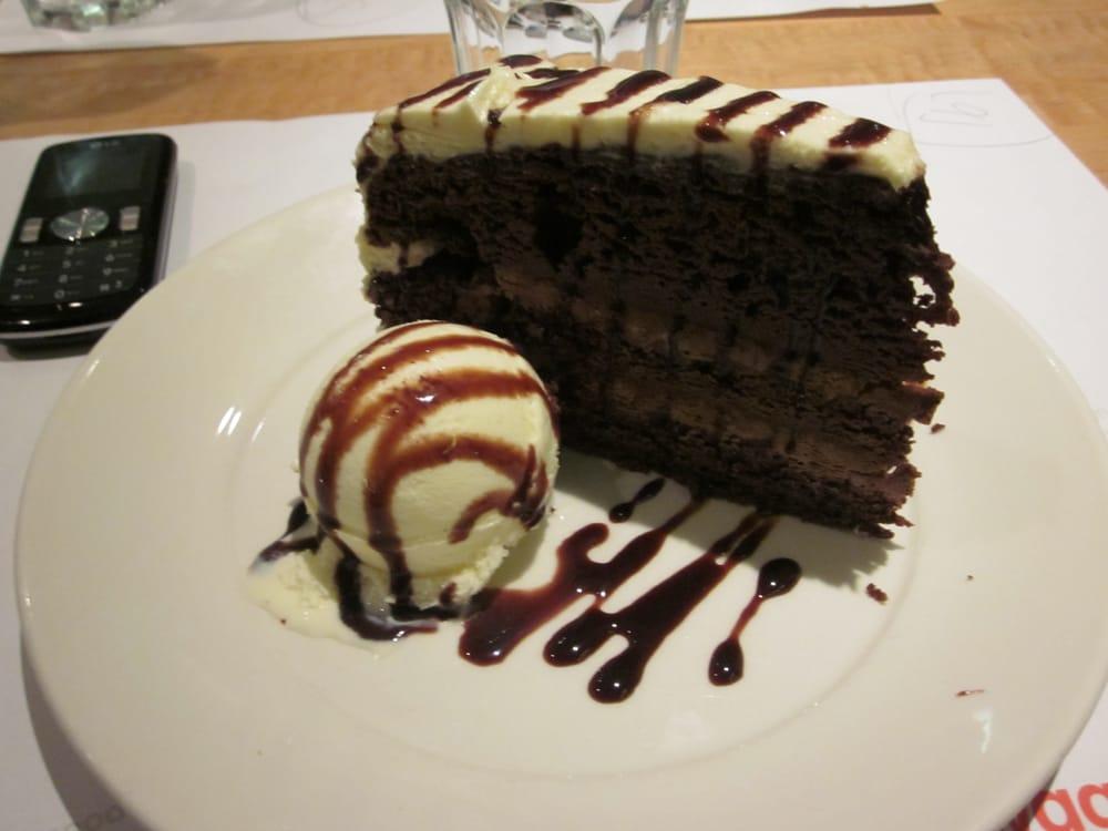 Wasabi Chocolate Cake Wagamama
