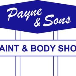 Payne Sons Paint Body Shop Dallas Tx