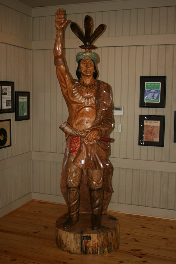 Poor Ol Kow Liga The Wooden Indian Made Famous By Hank Williams