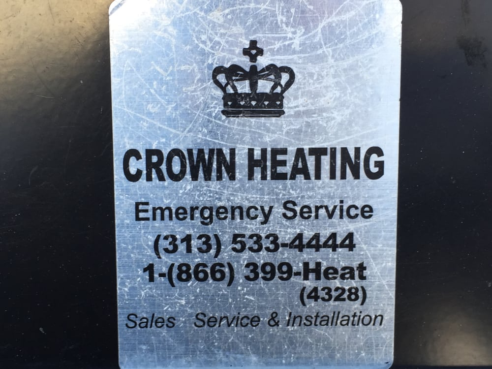 Our company sticker we put on furnaces, a/c's, boilers ...