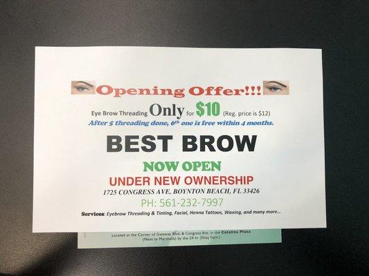 Best Brow 1725 N Congress Ave Ste D-1 Boynton Beach, FL Hair Salons ...