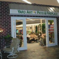 Superb Photo Of Yard Art Patio U0026 Fireplace   Allen, TX, United States