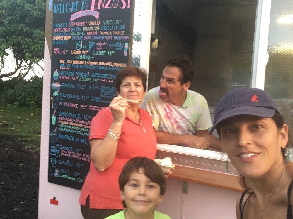 Enzo's Ice Cream: 619 Manono St, Hilo, HI