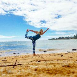 Photo Of Kauai Yoga On The Beach Kapaa Hi United States You