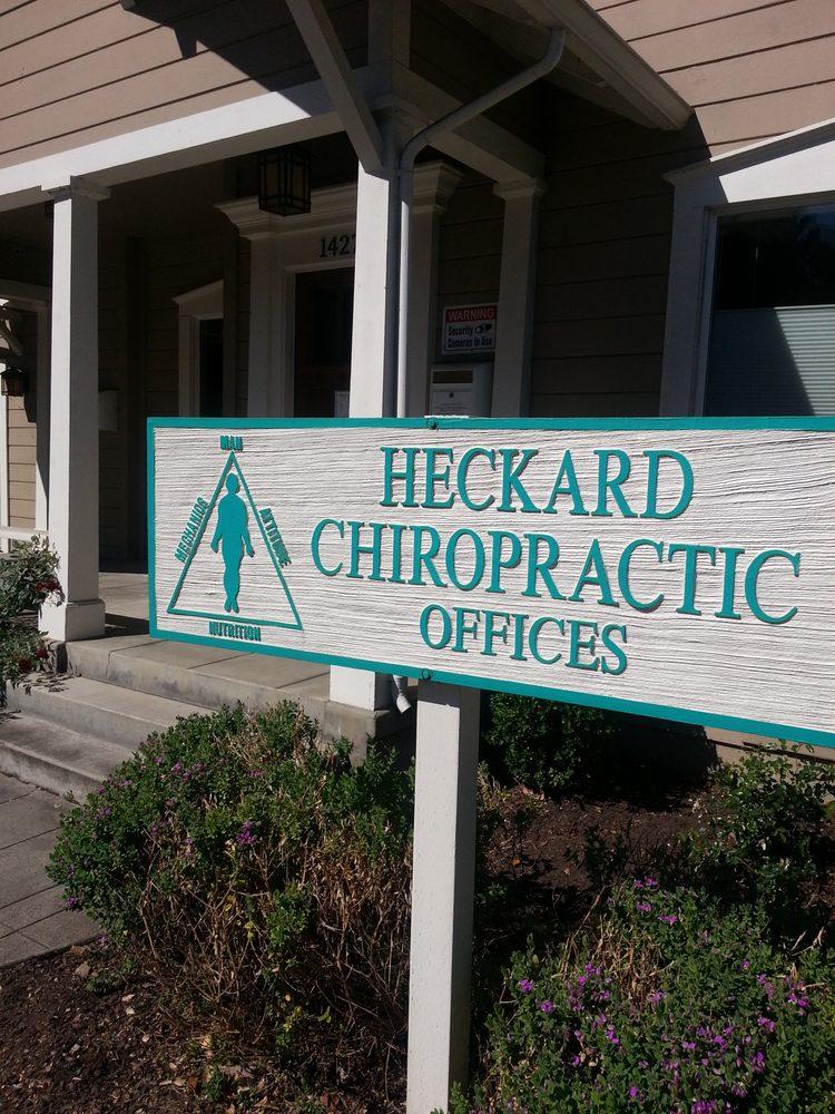 Heckard Chiropractic: 3417 Valle Verde Dr, Napa, CA
