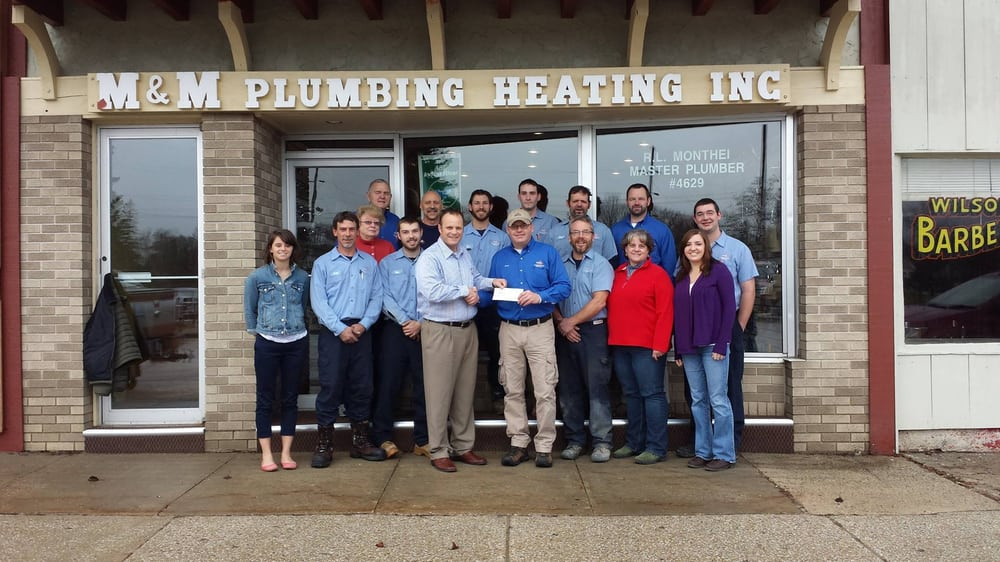 M & M Plumbing Heating & Cooling: 3464 S Straits Hwy, Indian River, MI