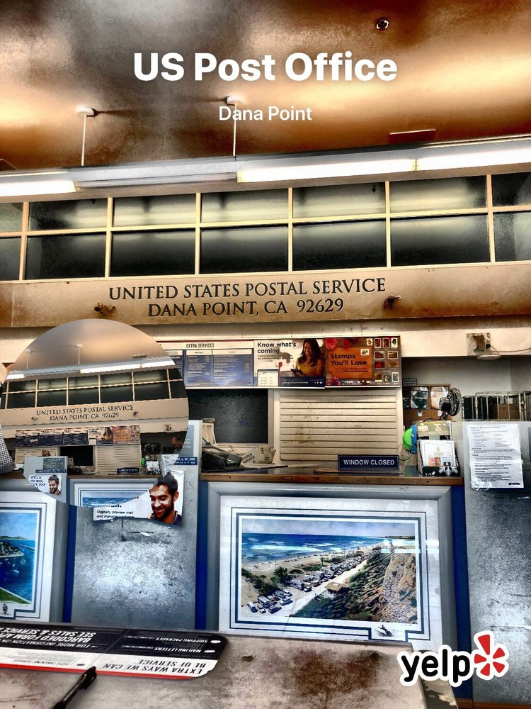 US Post Office: 24551 Del Prado, Dana Point, CA