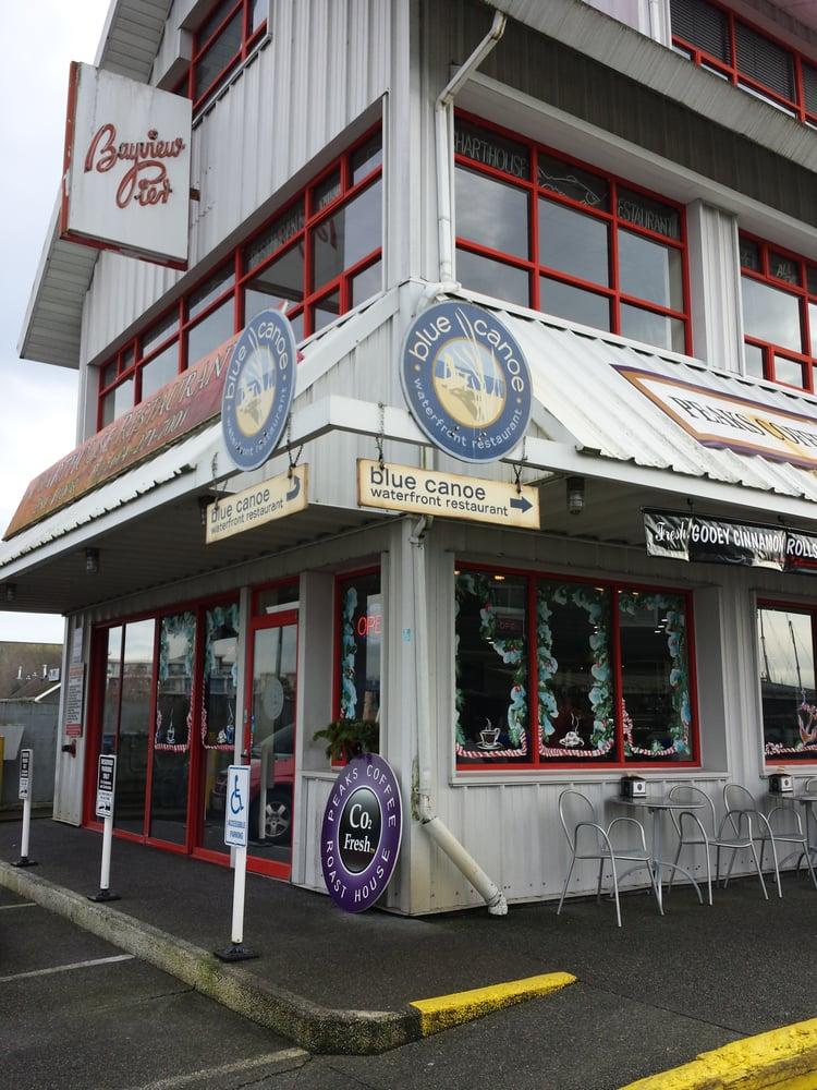 Blue Canoe Waterfront Restaurant Richmond Bc
