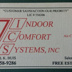Indoor Comfort Systems - Heating & Air Conditioning/HVAC - 10230 ...
