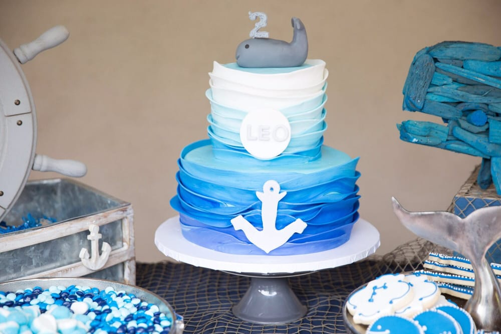 Nautical Birthday Cake Yelp