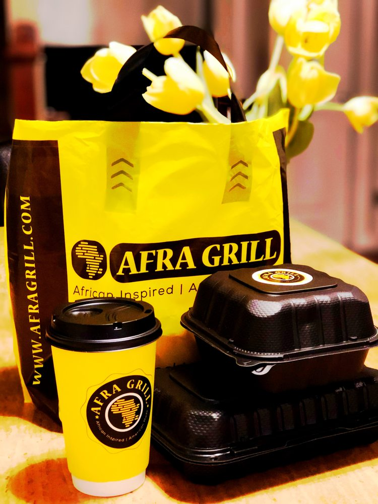 Food from Afra Grill