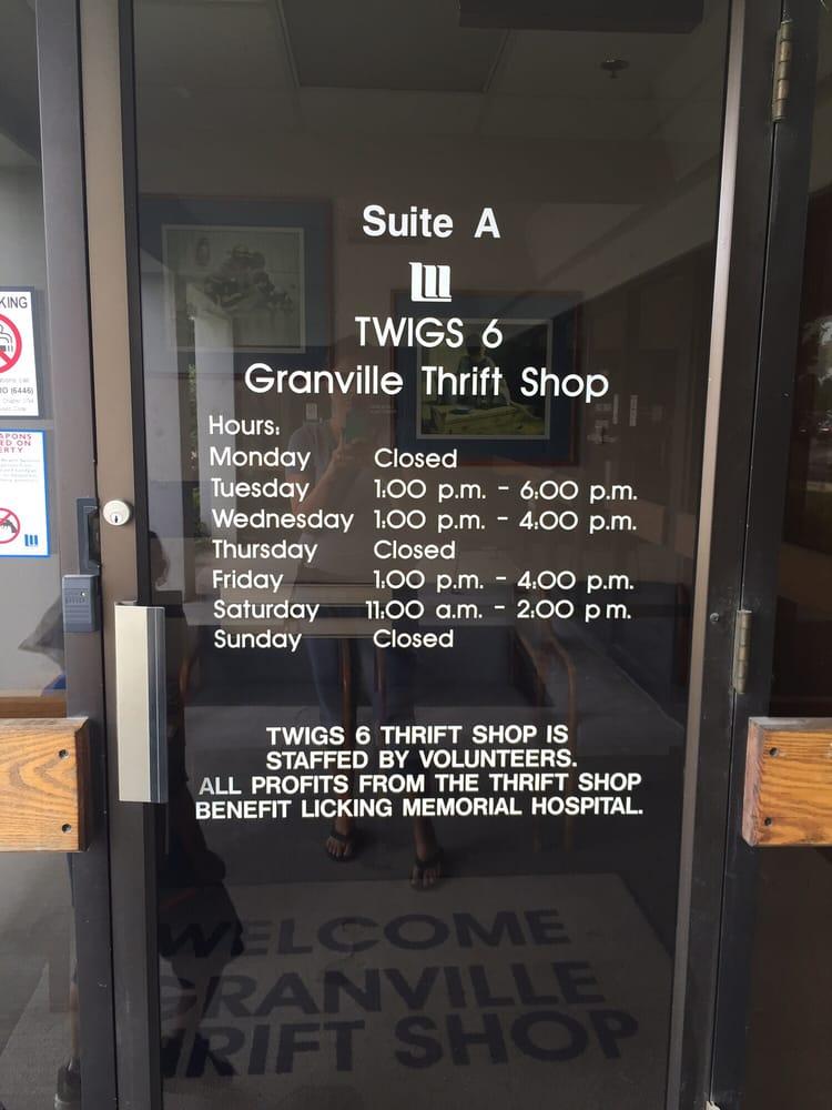 Granville Thrift Shop: 1865 Tamarack Rd, Newark, OH