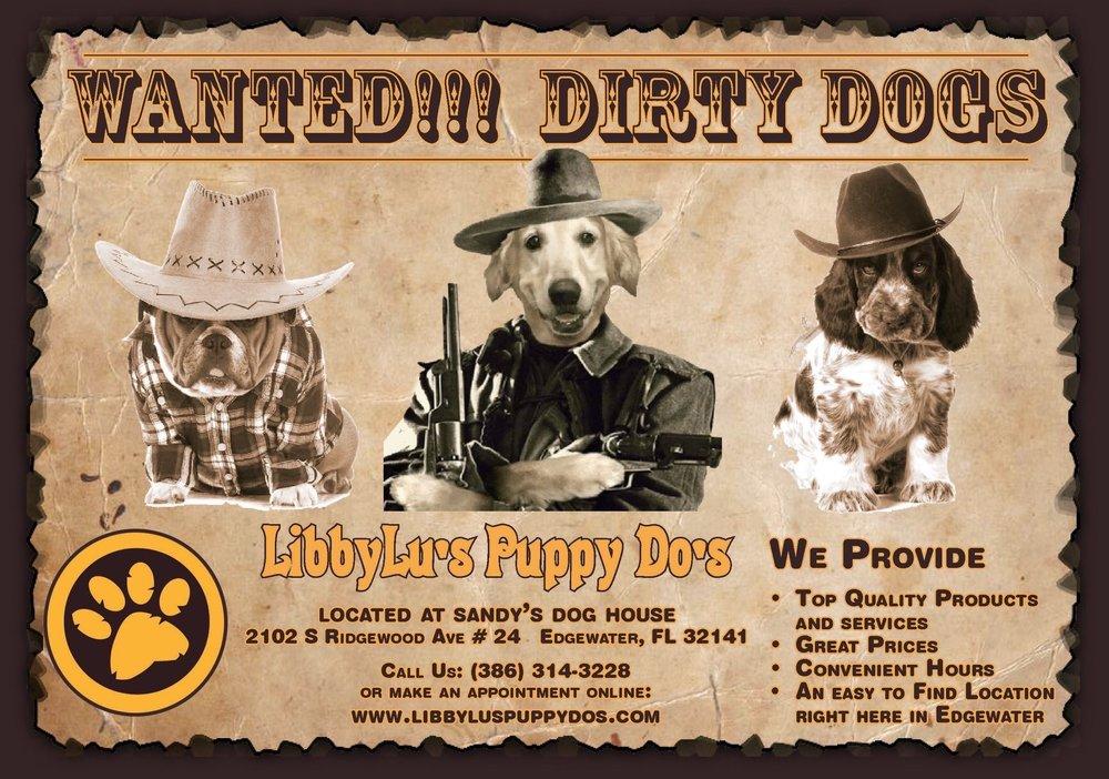 Libbylu's Puppy Do's: 2102 S Ridgewood Ave, Edgewater, FL