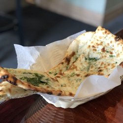 Photo Of Om Indian Cuisine San Francisco Ca United States Spinach Naan