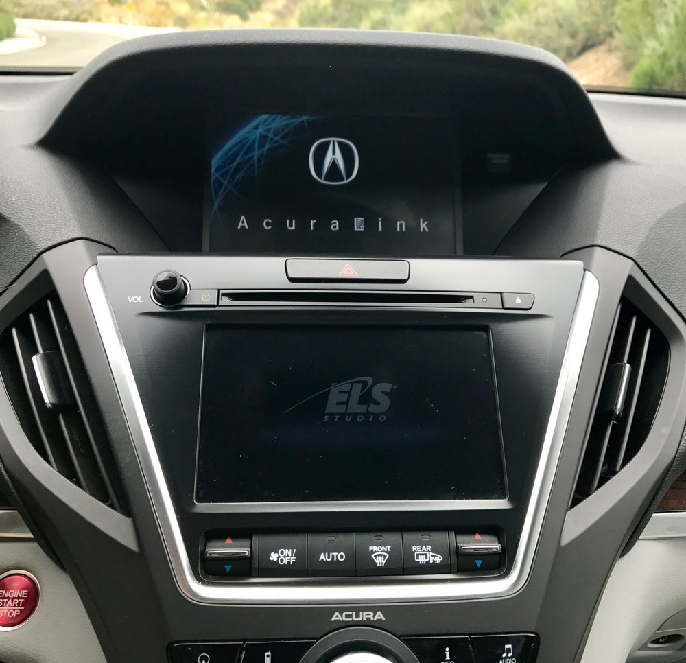 2014 Acura MDX Touchscreen & Navigation