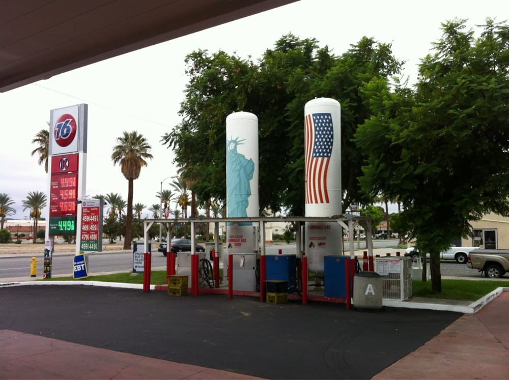 Diesel Gas Stations Near Me >> St. George 76 - Gas & Service Stations - 636 W Florida Ave, Hemet, CA, United States - Phone ...