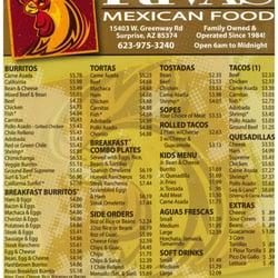 Mexican Food Restaurants Surprise Az