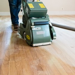 Photo Of Delaware Valley Hardwoods   Wilmington, DE, United States. Sanding  An Oak