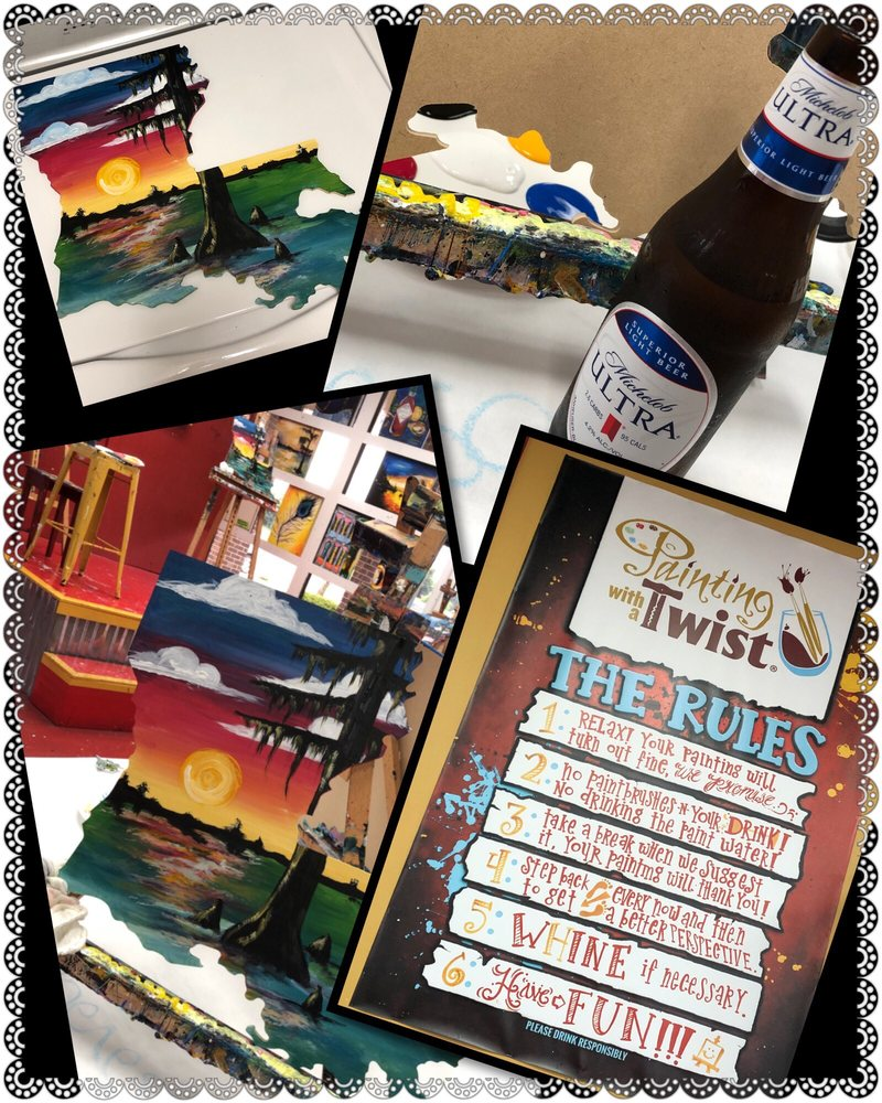 Painting with a Twist: 1409 E 70th St, Shreveport, LA